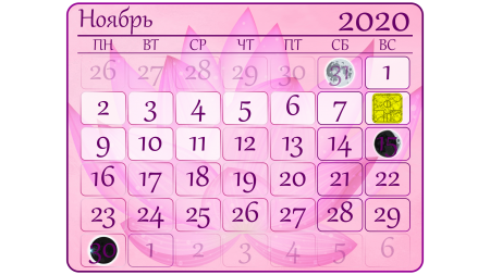 2020.11 - Ноябрь